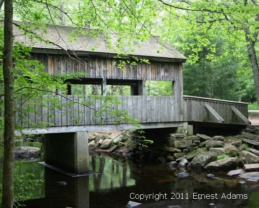 Would you like a covered bridge wedding at Devil's Hopyard State Park in East Haddam, CT?