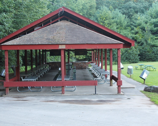 Mohegan Park Group Pavilion.